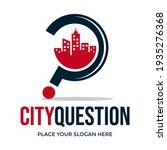 city question vector logo... | Shutterstock .eps vector #1935276368