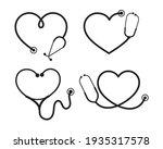 Vector Nurse Stethoscope...