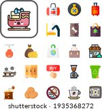 Bag Collection Vector Icons Set....