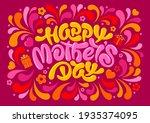 mother's day festive design....   Shutterstock .eps vector #1935374095
