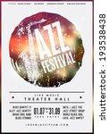 jazz music  poster background... | Shutterstock .eps vector #193538438