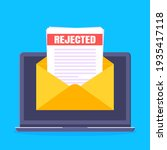 college or university reject...   Shutterstock .eps vector #1935417118