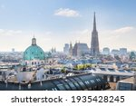 View Over Vienna Skyline With...