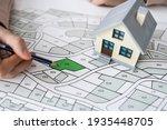 land development map. developer ... | Shutterstock . vector #1935448705