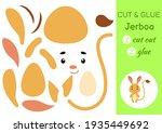 cut and glue paper little...   Shutterstock .eps vector #1935449692