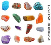 A Collection Of Semi Precious...