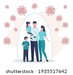 vector of a young family... | Shutterstock .eps vector #1935517642