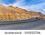 Highway Along Mountains Of...