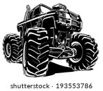 4x4,activity,auto,automobile,automotive,big,bigfoot,bumper,car,cartoon,comic,cool,custom,diesel,drive