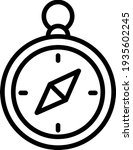 compass outline icon for your...