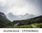 Dramatic Mountain Landscape...