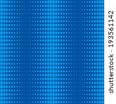 halftone of oval dots on blue... | Shutterstock .eps vector #193561142