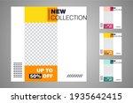 new set of editable minimal... | Shutterstock .eps vector #1935642415