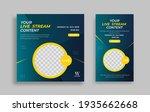 modern sosial media post design ... | Shutterstock .eps vector #1935662668