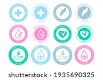 dermatologically tested icon... | Shutterstock .eps vector #1935690325