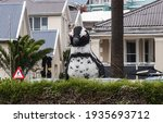 Big Inflated Sculpture Of...