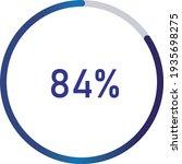 circle percentage diagrams ... | Shutterstock .eps vector #1935698275
