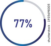 circle percentage diagrams ... | Shutterstock .eps vector #1935698305