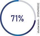 circle percentage diagrams ... | Shutterstock .eps vector #1935698332