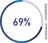 circle percentage diagrams ... | Shutterstock .eps vector #1935698335