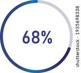 circle percentage diagrams ... | Shutterstock .eps vector #1935698338
