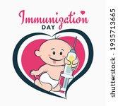 Immunization Day Poster  Baby...