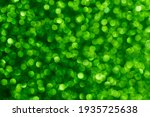 Green Bokeh. The Effect Of And...