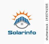 solar energy storage of...   Shutterstock .eps vector #1935741505