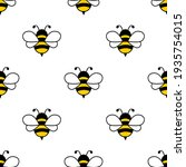 seamless pattern with flying... | Shutterstock .eps vector #1935754015