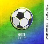creative soccer vector design | Shutterstock .eps vector #193577012