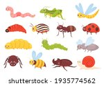 cute insects vector... | Shutterstock .eps vector #1935774562