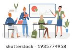 student people training with...   Shutterstock .eps vector #1935774958