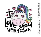 love concept design with hearts ... | Shutterstock .eps vector #1935783028