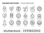 food industry related  pixel... | Shutterstock .eps vector #1935832042