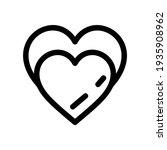 lovely icon or logo isolated... | Shutterstock .eps vector #1935908962