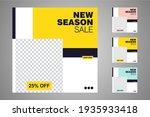new set of editable minimal...   Shutterstock .eps vector #1935933418