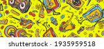 musical street culture. hip hop ... | Shutterstock .eps vector #1935959518