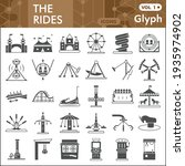 the rides solid icon set ...   Shutterstock .eps vector #1935974902