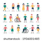 Disabled Children Set....