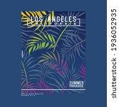 graphic tee print design for... | Shutterstock .eps vector #1936052935