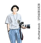A Professional Photographer And ...