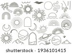 collection of line design with...   Shutterstock .eps vector #1936101415