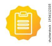 paper task icon. paper task...