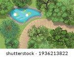 vector illustration. landscape... | Shutterstock .eps vector #1936213822