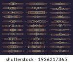 art deco borders. retro...   Shutterstock . vector #1936217365