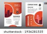 brochure design template vector.... | Shutterstock .eps vector #1936281535