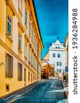 Quarters And Streets On  Prague'...