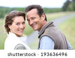 cheerful 40 year old couple... | Shutterstock . vector #193636496
