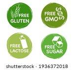 lactose free. gluten free....   Shutterstock .eps vector #1936372018