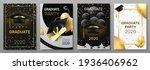 graduation cards. invitation...   Shutterstock .eps vector #1936406962